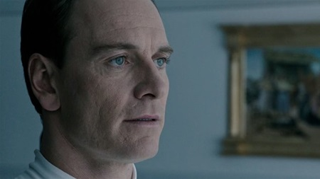 Michael Fassbender ve filmu Vetřelec: Covenant